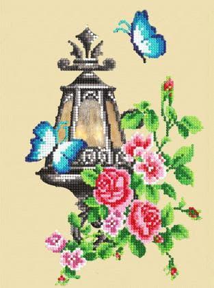 Ліхтарик з квітами FV-414 Світарт