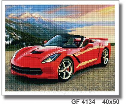 Червона машина GF 4134 Твоє хоббі