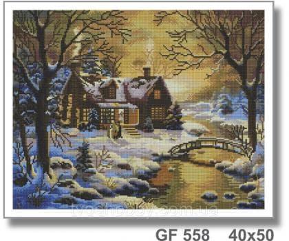 Зимовий вечір GF 558 Твоє хоббі
