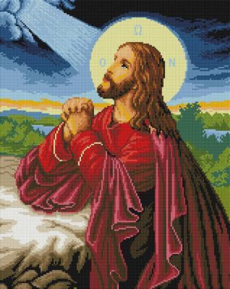 Моління о чаші SP014 Алмазна мозаїка IF