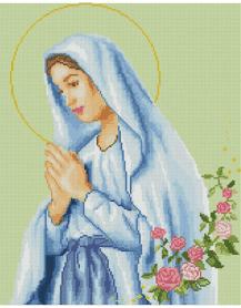 Молитва Марії SP044 Алмазна мозаїка IF