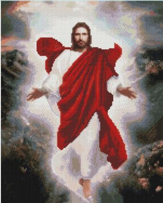 Вознесіння Ісуса Христа SP060 Алмазна мозаїка IF