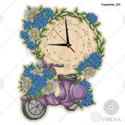 Годинник дерев'яний Годинник-101 VIRENA