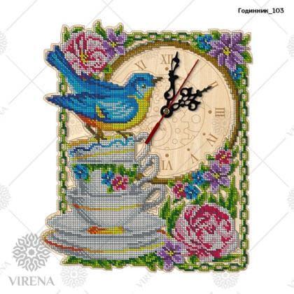 Годинник дерев'яний Годинник-103 VIRENA