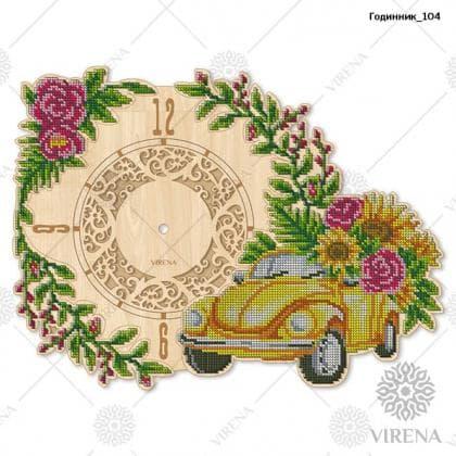 Годинник дерев'яний Годинник-104 VIRENA