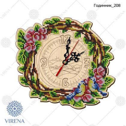 Годинник дерев'яний Годинник-208 VIRENA