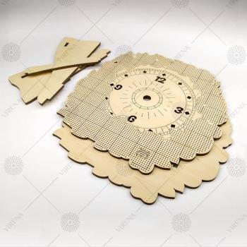 Годинник дерев'яний