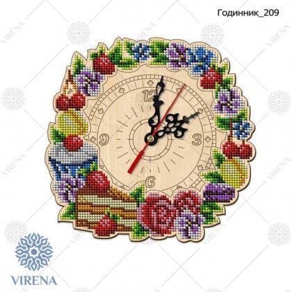 Годинник дерев'яний Годинник-209 VIRENA