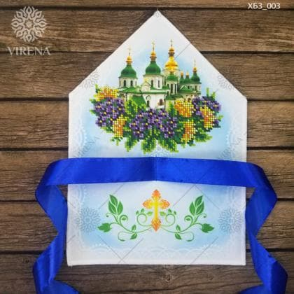 Хустка для  букета ХБЗ-003 VIRENA