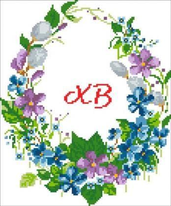 Великодній рушник ХВ-012 Княгиня Ольга