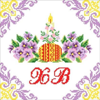Великодній рушник ХВ-013 Княгиня Ольга
