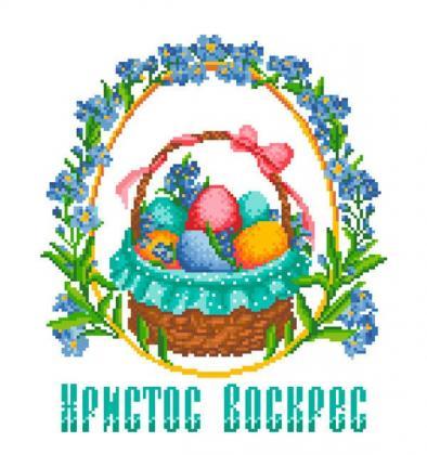 Великодній рушник ХВ-016 Княгиня Ольга