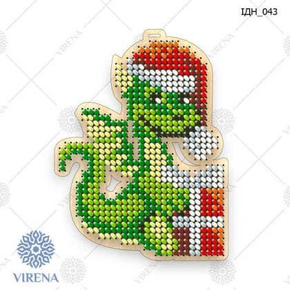 Ялинкова прикраса ІДН-043 ак VIRENA