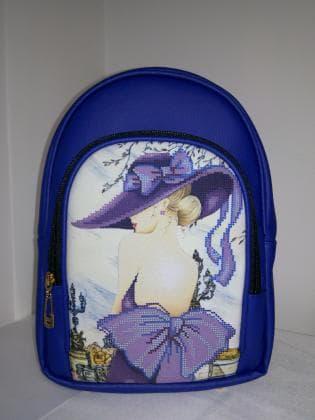 Рюкзак під вишивку М 2 С 2 Синій ЮМА
