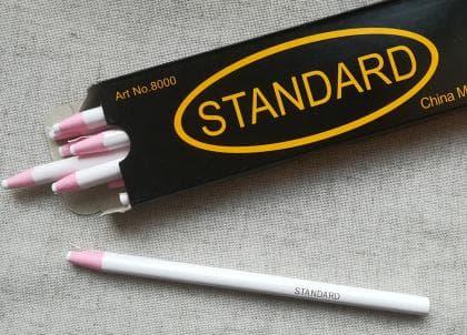 Олівець для темних тканин Standart білий