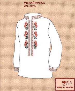 Заготовка  для сорочки СЧ-091 Квітуча країна