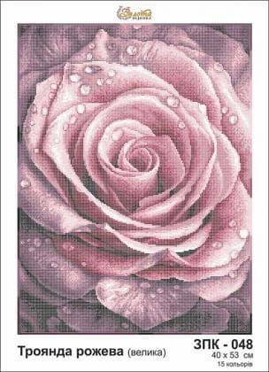 Троянда рожева ЗПК-048 Золота підкова
