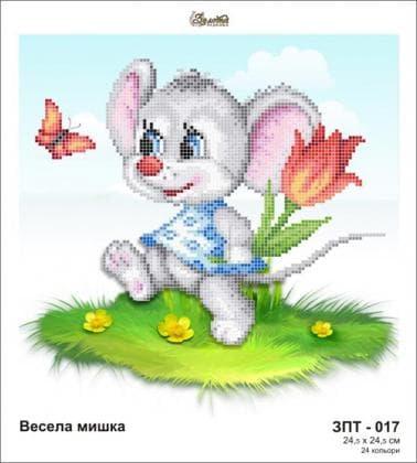 Весела мишка ЗПТ-017 Золота підкова