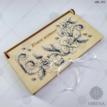 """Коробочка-конверт для грошей """"Вічного кохання!"""""""