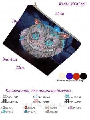 Косметичка КОС-69 ЮМА
