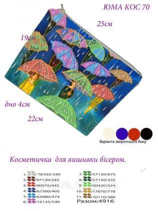 Косметичка КОС-70 ЮМА