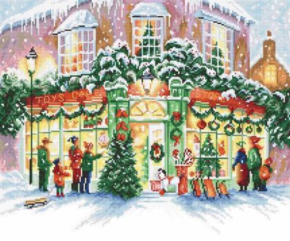 Різдвяний магазин LETI 914 Letistitch