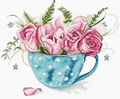 Чашка троянди LETI 916 Letistitch