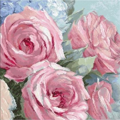 Блідо-рожеві троянди LETI 928 Letistitch