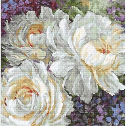 Білі троянди LETI 930 Letistitch