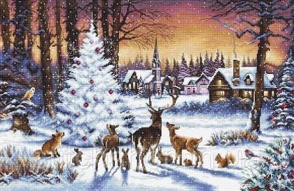 Різдвяний ліс LETI 947 Letistitch