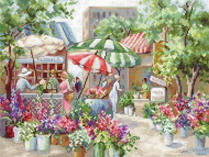 Квітковий ринок LETI 978 Letistitch