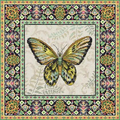 Вінтажний метелик LETI 981 Letistitch