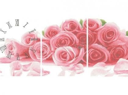 Годинник з трояндами
