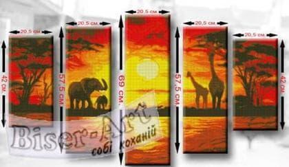 Африка ТМ7 Biser-Art