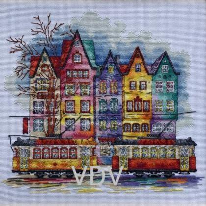 Фарби старого міста М-0250 ВДВ