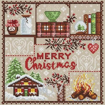 З Різдвом М-0257 ВДВ