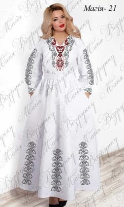 Заготовка плаття Плаття Магія-21 Магія Візерунку