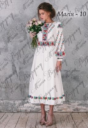 Заготовка плаття Плаття Магія-10 Магія Візерунку