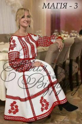 Заготовка плаття Плаття Магія-3 Магія Візерунку