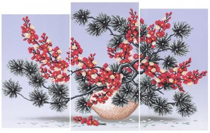 Ікебана  з вишнею