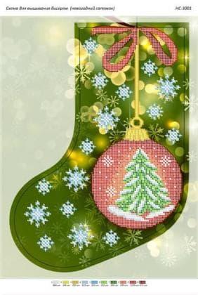 Чобіток для подарунків НС-3001 Сяйво БСР