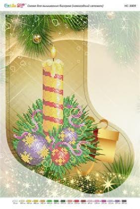 Чобіток для подарунків НС-3009 Сяйво БСР