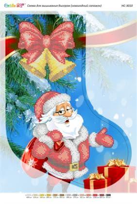 Чобіток для подарунків НС-3010 Сяйво БСР