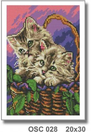 Котики в кошику OSC 028 Твоє хоббі