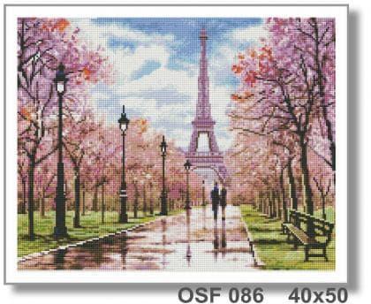 Романтична прогулянка в Парижі OSF 086 Твоє хоббі