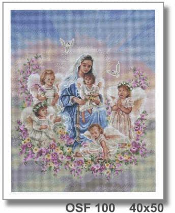 Діва Марія з Ангелами OSF 100 Твоє хоббі