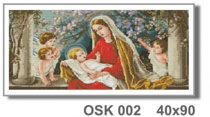 Мадонна в яблуневому саду OSK 002 Твоє хоббі