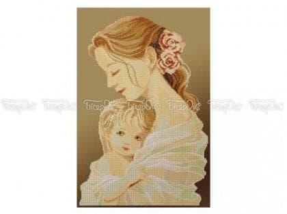 Мама і дитина П-102 К Бісерок
