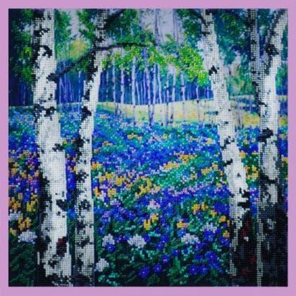 Квітуча галявина Р-197 Картини бісером