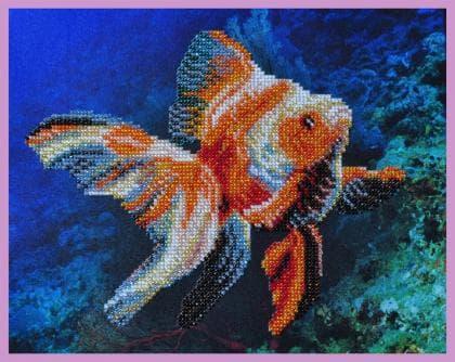 Золота рибка Р-240 Картини бісером
